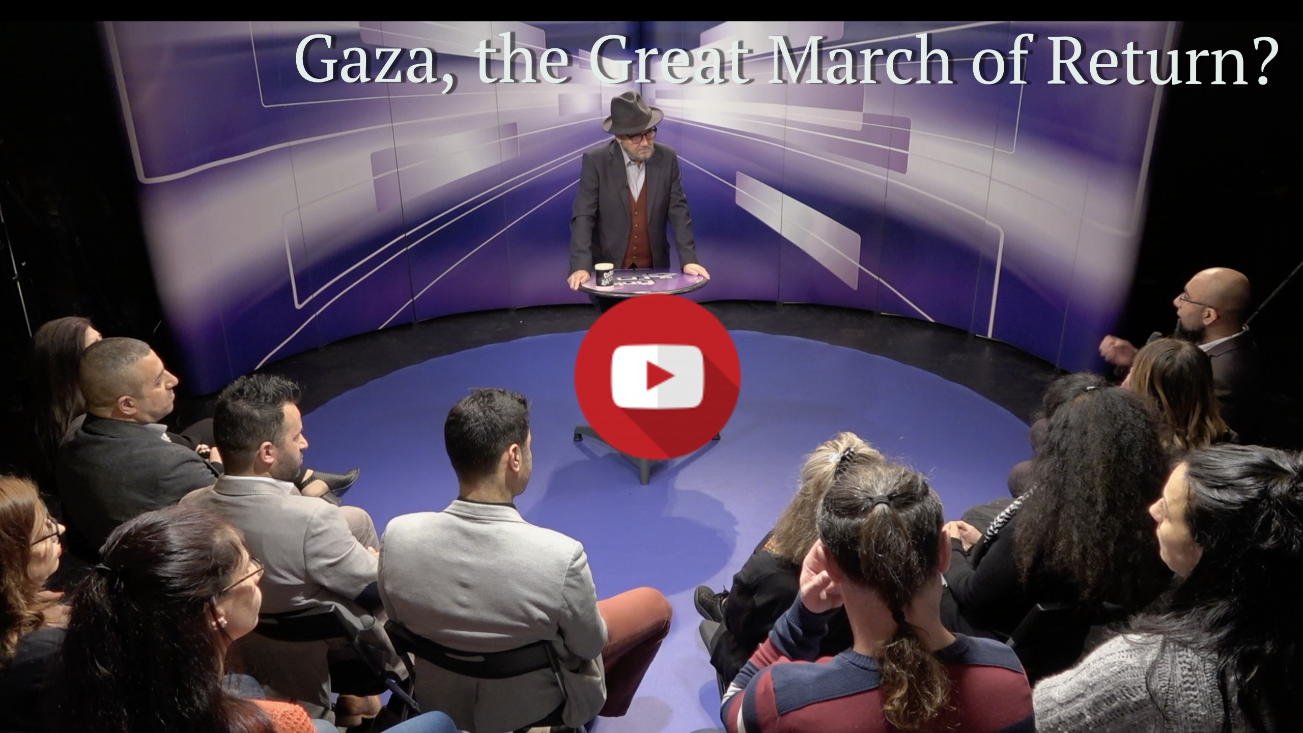Gaza March of Return for Kalima Horra YouTube page