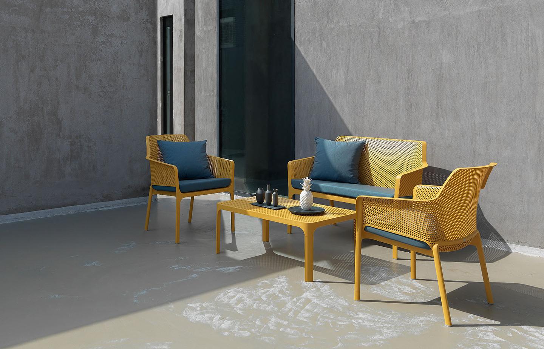 Loveseat archives nardi outdoor furniture italy for Outdoor furniture italy