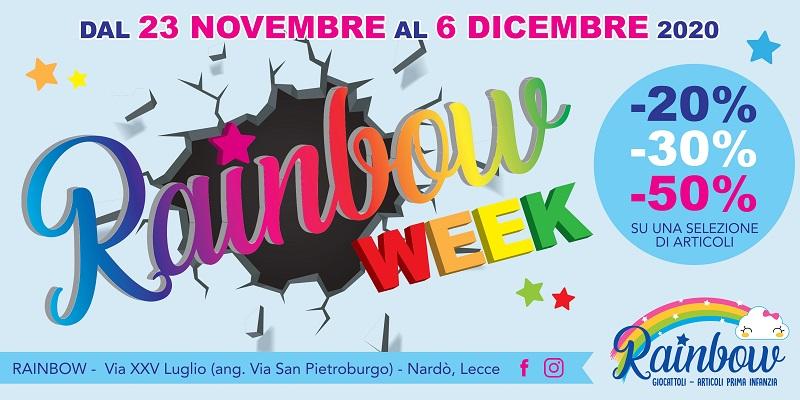 RAINBOW WEEK – TUTTE LE OFFERTE, SCONTI E PROMOZIONI