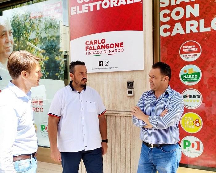 LEONARDO DONNO M5S INCONTRA CARLO FALANGONE