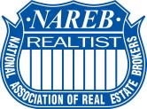 nareb logo blue and white
