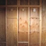 「DIYで木造物置製作7」壁合板貼り編