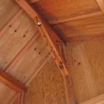 「DIYで木造物置製作8」瓦葺きの準備編