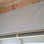 「DIYでサンルーム温室13」室内壁塗り編