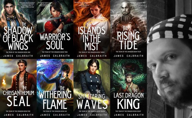 Featured Author: James Calbraith