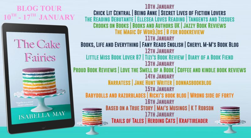Book Tour: The Cake Fairies by Isabella May