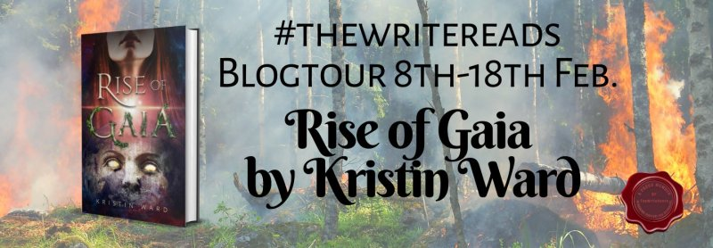 Book tour: Rise of Gaia by Kristin Ward