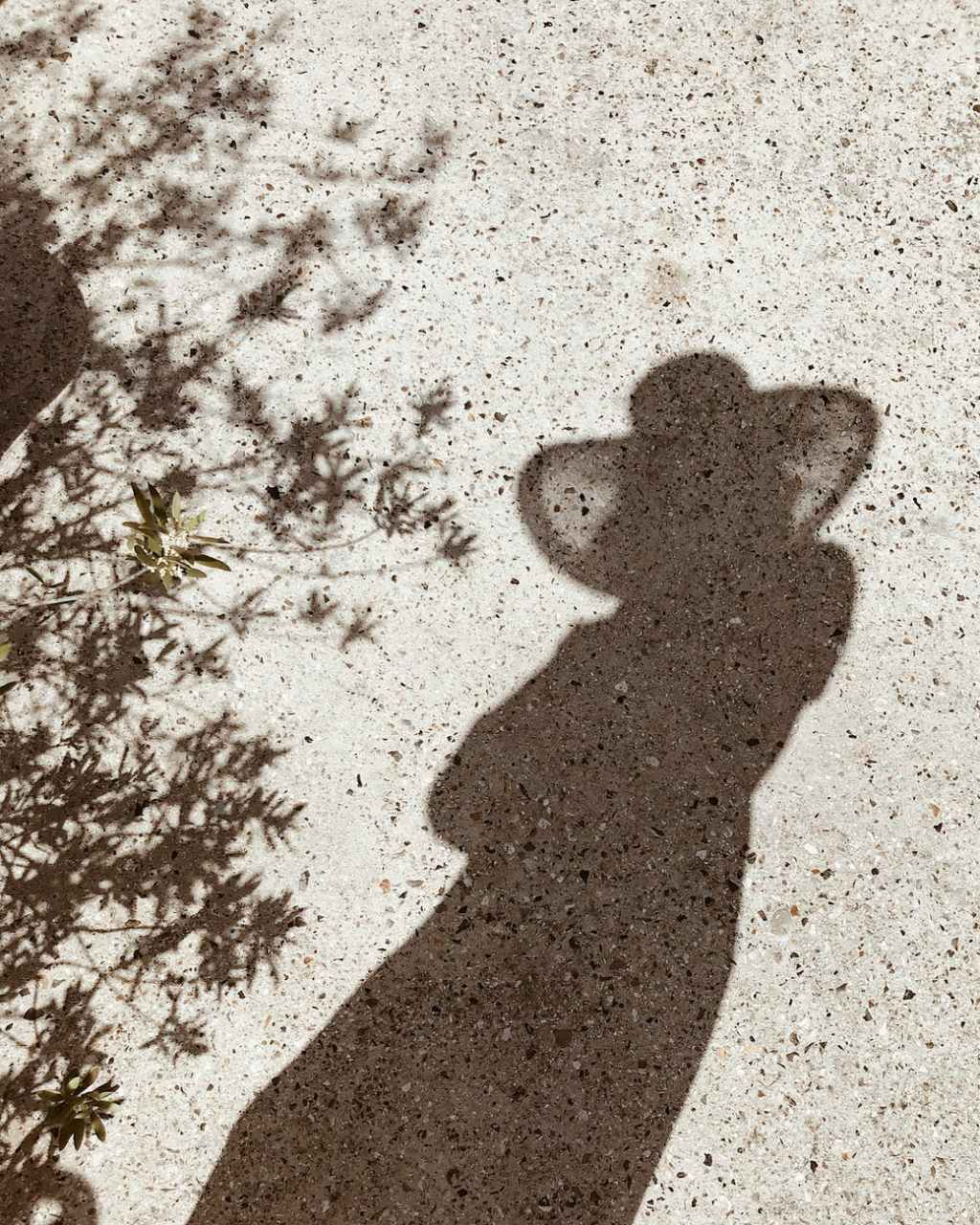 person s shadow