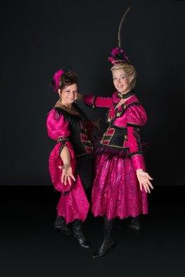 Prinses GlitZZ en hofdame GlamZZ