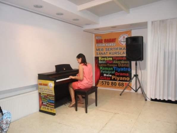 piyano keman dersi