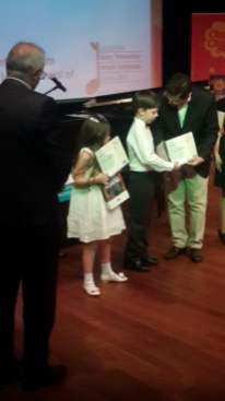 Nar Sanat öğrencileri müzik yarışmasında ödül aldı.