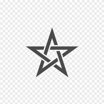 五芒星のイラスト | アイコン素材ダウンロードサイト「icooon-mono」 | 商用利用可能なアイコン素材が無料(フリー)ダウンロードできるサイト