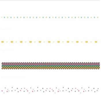 星 | 罫線・飾り罫ライン素材 FREE LINE DESIGN