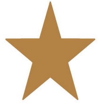 スターのイラスト【ブラウン】【マーク・星マークのイラスト】【無料イラスト素材】: 無料イラスト素材 イラストほし