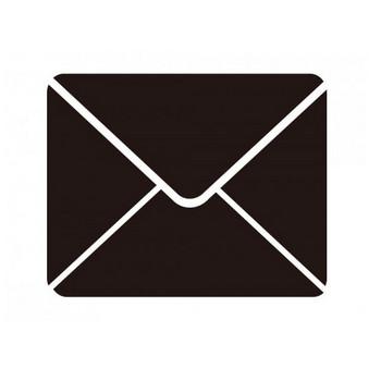 封筒型のメールアイコン | SOZAIC.com【ソザイック】 フリーのイラスト素材と制作に役立つブログ情報サイト