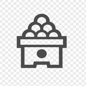 月見だんごアイコン3 | アイコン素材ダウンロードサイト「icooon-mono」 | 商用利用可能なアイコン素材が無料(フリー)ダウンロードできるサイト