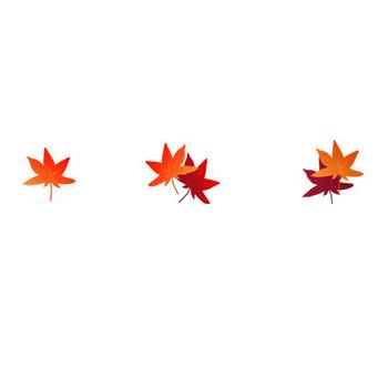 秋の紅葉・もみじのイラスト-無料イラスト/フリー素材