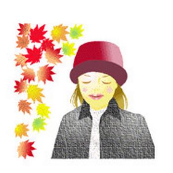 秋のイラスト背景素材9月10月11月素材無料―素材屋じゅん秋のイラスト背景