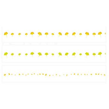 いちょうの葉 | 罫線・飾り罫ライン素材 FREE LINE DESIGN
