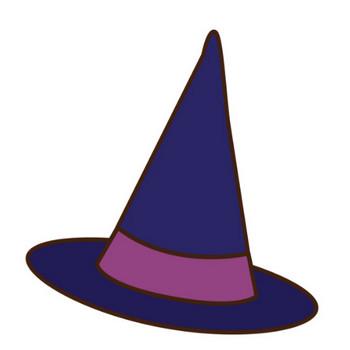 「魔女の帽子」 - 無料イラスト愛