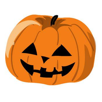 無料イラスト素材「ハロウィン・かぼちゃ」ダウンロード-印刷素材.net