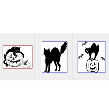Free Black Cat Clipart - Public Domain Halloween clip art, images and graphics