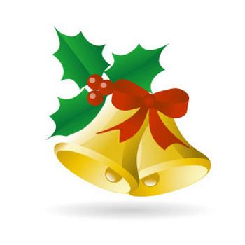 クリスマスベル - フリーイラスト素材 「趣味で作ったイラストを配るサイト」