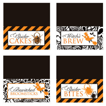 """Halloween Printables: """"Spellbound Sweets"""" // Hostess with the Mostess®"""
