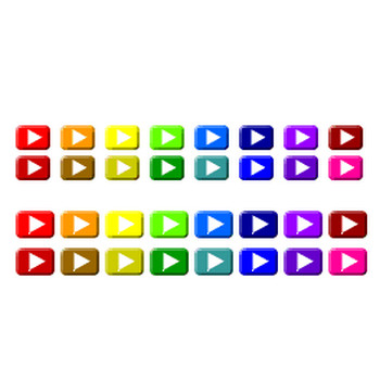 無料素材≫リストマーク:矢印ボタン2 18・20px