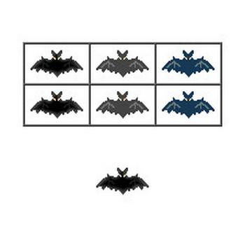 ハロウィンのイラスト・コウモリ・三日月・かぼちゃ・秋のイラスト/フリー素材/無料イラスト素材