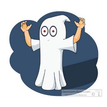 Halloween Clipart- halloween_ghost_0413 - Classroom Clipart