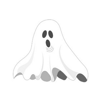 Free Halloween Ghosts Clipart Graphics and Images