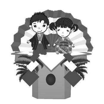 正月 鏡餅 門松 松竹梅 冬のイラスト素材 無料テンプレート