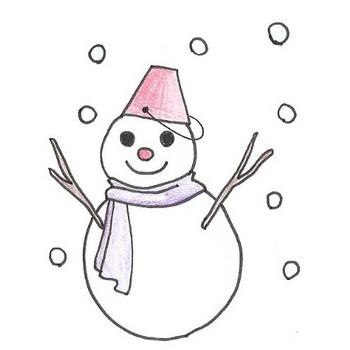 雪だるま:フリーイラスト集 学校保健ポータルサイト