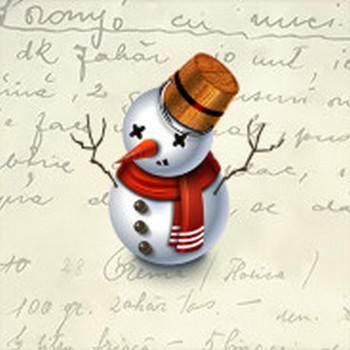Snowman Icon - Christmas 2009 Icons - SoftIcons.com
