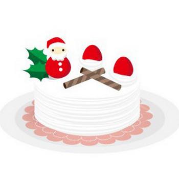 クリスマスケーキ - フリーイラスト素材 「趣味で作ったイラストを配るサイト」