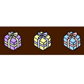 プレゼントの素材イラスト | イラスト素材:パンコス