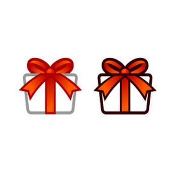 プレゼントの箱Aのイラスト フリー素材 素材のプチッチ