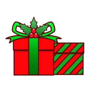 クリスマスプレゼントのイラスト   かわいいフリー素材が無料のイラストレイン