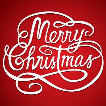 メリークリスマスのロゴ ベクター画像 | 無料ダウンロード