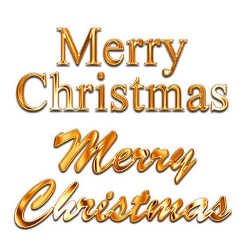 メリークリスマスイラスト金文字 画像フリー素材|無料素材倶楽部
