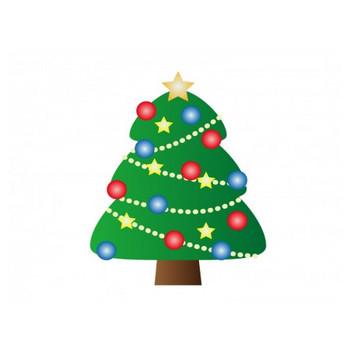 クリスマスツリー・冬のイラスト素材 | イラスト無料・かわいいテンプレート
