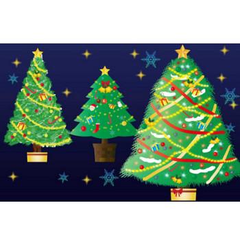 クリスマスツリーのイラスト - 可愛い無料のもみの木素材 - チコデザ