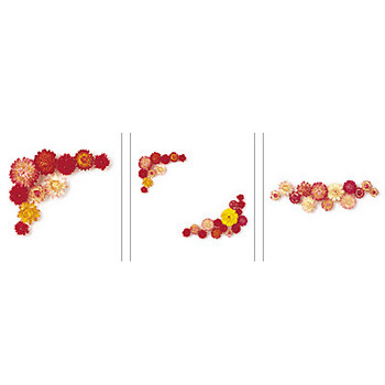 花フレーム(写真) フリーイラスト集 ペーパーミュージアム-サンワサプライ株式会社