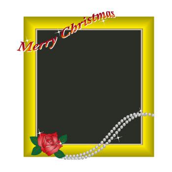 無料|WEB素材|イラスト|クリスマス/プレート1