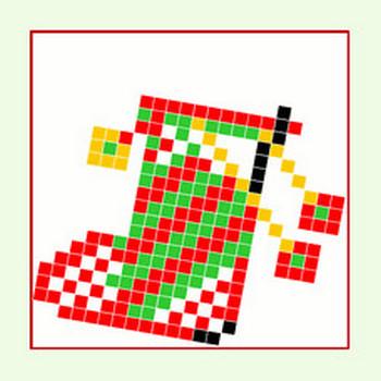 クリスマスブーツ・イラスト♪ 毎日が、笑顔で元気♪/ウェブリブログ
