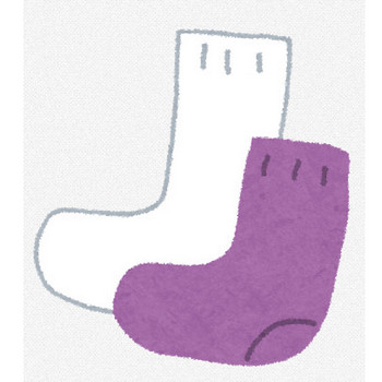 靴下のイラスト | かわいいフリー素材集 いらすとや