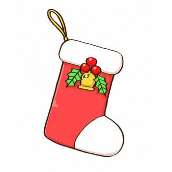 クリスマスプレゼントを入れる靴下のイラスト - 無料イラストのIMT 商用OK、加工OK