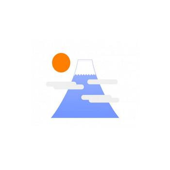 富士山・登山イラスト素材01 | イラスト無料・かわいいテンプレート