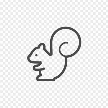 リスのアイコンですたい。 | アイコン素材ダウンロードサイト「icooon-mono」 | 商用利用可能なアイコン素材が無料(フリー)ダウンロードできるサイト